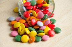 Molto caramella colourful Fotografie Stock Libere da Diritti