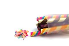 Molto caramella in contenitore bianco Fotografie Stock