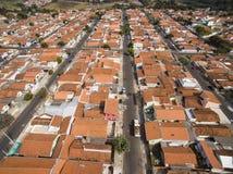 Molto cittadina a Sao Paulo, Brasile Sudamerica fotografia stock