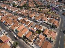 Molto cittadina a Sao Paulo, Brasile Sudamerica immagini stock libere da diritti