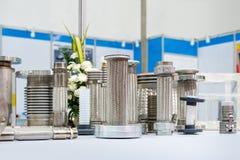 Molto genere di tubo flessibile e di flangia di acciaio inossidabile per l'alto e sistema medio di pressione o di temperatura per immagine stock
