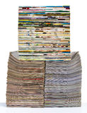 Molto giornale della spina dorsale Fotografie Stock