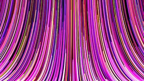 Molto la banda luminosa verticale allinea, contesto generato da computer dell'estratto, la rappresentazione 3D Fotografie Stock