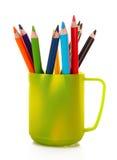 Molto matita variopinta Immagine Stock