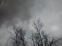 Molto nuvoloso Fotografia Stock