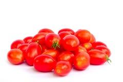 Molto pomodoro della carne per sano sull'isolato bianco del fondo Fotografie Stock