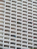 molto terrazzo di costruzione al condominio locale Immagini Stock Libere da Diritti