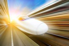 Molto treni ad alta velocità Fotografie Stock Libere da Diritti