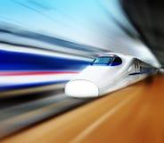 Molto treno ad alta velocità in Cina fotografia stock libera da diritti