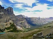Molto valle del ghiacciaio Fotografia Stock Libera da Diritti