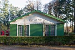 Moluccan barracks at Dutch Open Air Museum in Arnhem Royalty Free Stock Photo