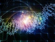Распространять цифров Molucule Стоковая Фотография