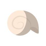 Molusk icon image. Molusk icon over white background. colorful design. vector illustration Royalty Free Stock Photography