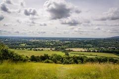 Molvallei, Surrey, Engeland, het UK stock afbeelding