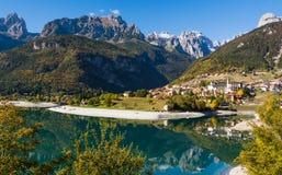 Molveno Lake, Italy Stock Photography
