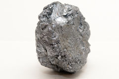 Molybdenite molybdenum mineral Royalty Free Stock Image