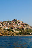 Molyvos Obrazy Royalty Free