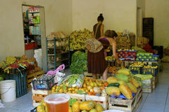 Mom-και-λαϊκό μανάβικο Μεξικό Στοκ εικόνες με δικαίωμα ελεύθερης χρήσης