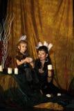Mom και κόρη Ινδοί Στοκ εικόνα με δικαίωμα ελεύθερης χρήσης