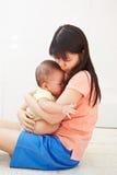 Mom και μωρό daugher Στοκ φωτογραφίες με δικαίωμα ελεύθερης χρήσης