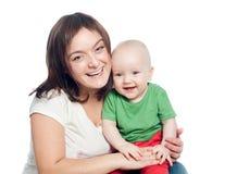 Mom με το μωρό στοκ φωτογραφίες με δικαίωμα ελεύθερης χρήσης