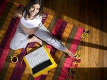 σύγχρονο mom Στοκ φωτογραφία με δικαίωμα ελεύθερης χρήσης