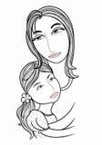 mom Imagens de Stock