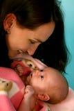 Mom&Baby Fotografie Stock