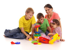 Mom And Children Stock Images