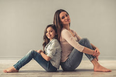 Free Mom And Daughter Stock Images - 88937224