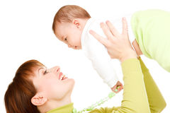 Mom and baby Stock Image