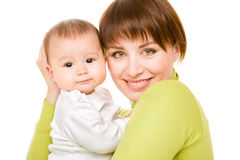 Mom and baby Royalty Free Stock Photo