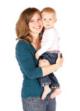 Mom with baby royalty free stock photography