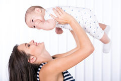 Mom and baby Royalty Free Stock Images