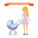 Mom with baby Royalty Free Stock Image