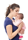Mom and baby. Stock Photos