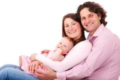 Mom, Caucasian, Child, Daughter Royalty Free Stock Images