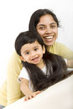 Mom with child Royalty Free Stock Photography