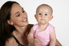 Mom & Child Stock Photography