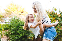 Mom with child Stock Photo
