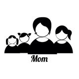 Mom and childrens Stock Image