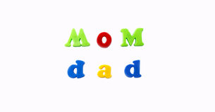 Mom and Dad Royalty Free Stock Photography