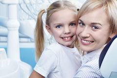 Mom and daughter Royalty Free Stock Photography