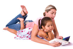 Mom and daughter. Stock Photography