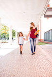Mom and daughter Royalty Free Stock Images