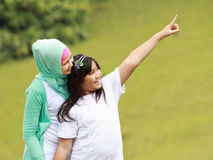 Mom and Daughter Having Fun Royalty Free Stock Photography
