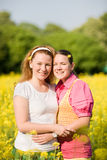 Mom and Daughter Having Fun Royalty Free Stock Images