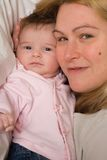 Mom and daugther Royalty Free Stock Photo
