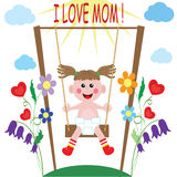 Mom Day! Royalty Free Stock Photo