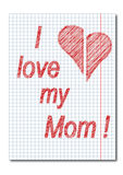 Mom day background Royalty Free Stock Image